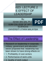 2 Gdu5023 the Effects of Leadership