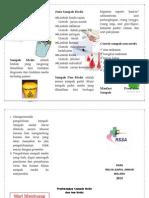 Leaflet Pengelolaan Sampah