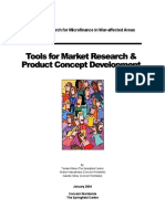 Tools for Market Research and Product Concept Development