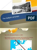 the gallipoli campaign