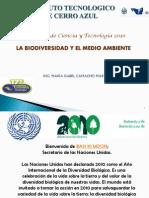 Conferencia Biodiversidad Octubre 2010