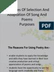 LGA Principles of Selection and Adaptation of Song And