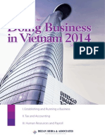 An Introduction to Doing Business in Vietnam 2014 Second Edition