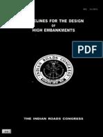 IRC_075-1979 Design of High Embankments