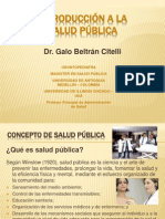 1 Introducción a La Salud Pública