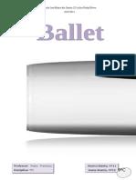 Historia e Evoluçao Do Ballet