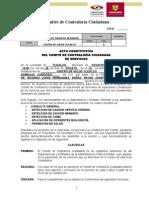 Acta Constitutiva de Servicios y Acciones - Tlicalco