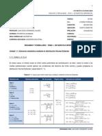 Formulario 1 - Estadística Inferencial