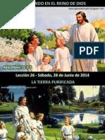Lección 26 - Viviendo en El Reino de Dios
