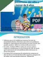 Desarrollo Psicomotor Del Niño y La Niña Menor