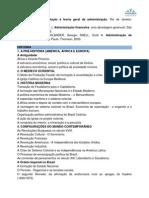 Conteúdo Programático Hist IFSP