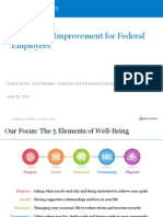 Well-Being Improvement for Federal Employees