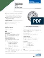 Wika 23x 54 Data Sheet