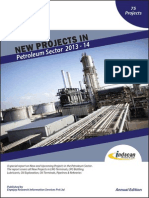 New Projects in Petroleum Sector 2013-14