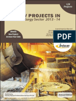 New Projects in Metallurgy Sector 2013-14
