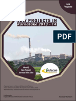New Projects in Karnataka 2013-14
