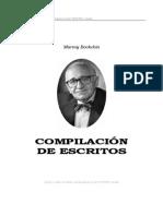 Bookchin, Murray - Compilación de Escritos(Una Sociedad Ecologica)