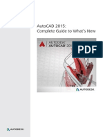 Autocad 2015 What is New Guide