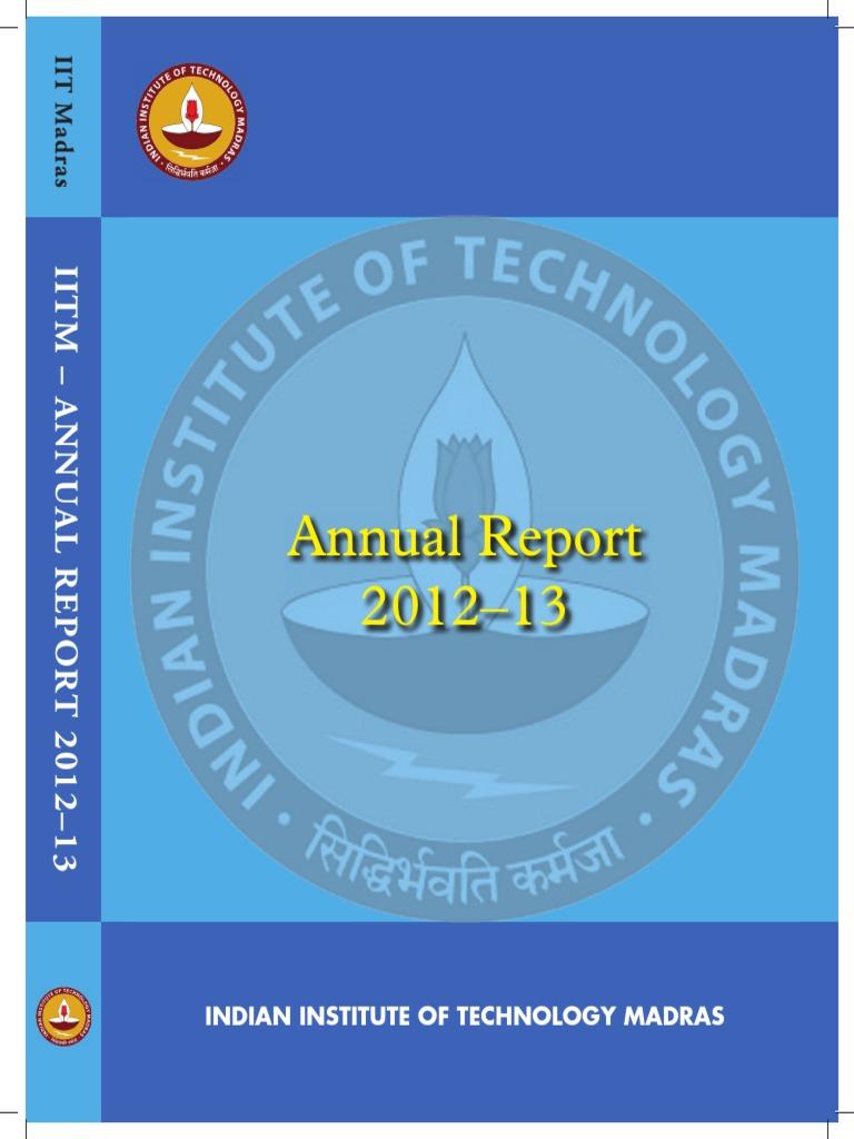 IITM-Annual Report-2012   Educational Technology   Engineering