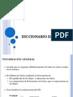 Tema 2. Diccionario de Datos (1)