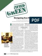 Designing Eco Hotels