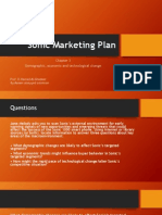 Sonic Marketing Plan