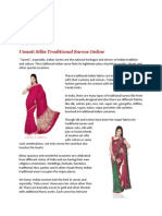 National Heritage of Traditional Indian Sarees