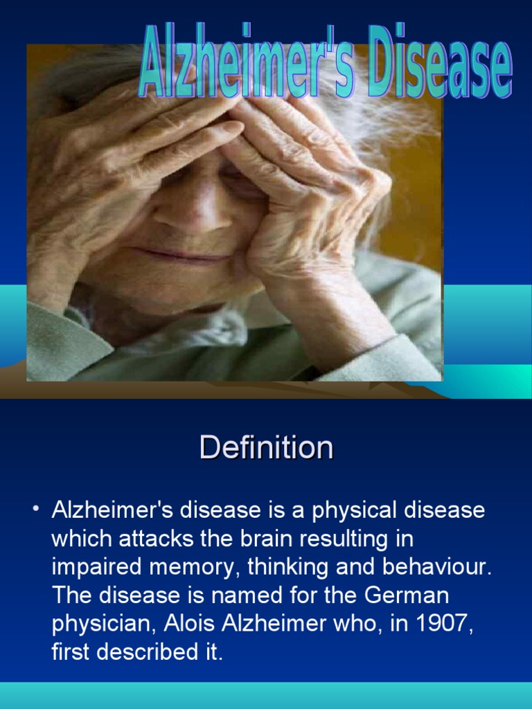 Alzheimer's research papers