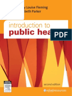 Introduction to Public Health - M. Fleming y E. Parker