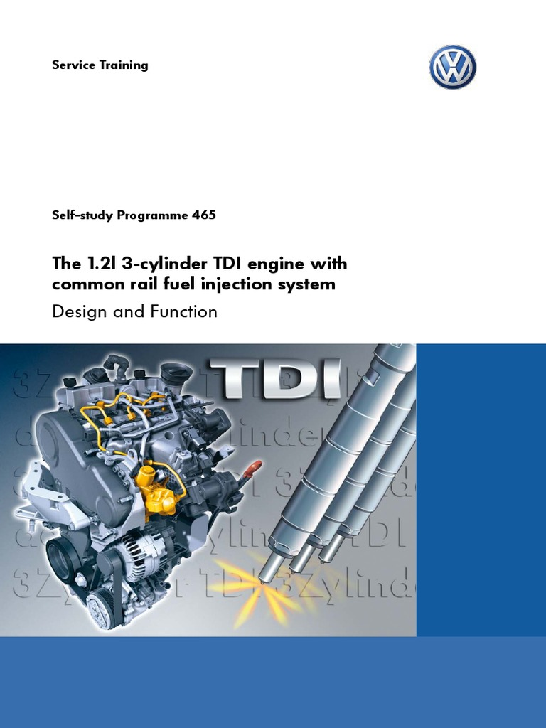 Ssp465 The 12l 3 Cylinder Tdi Engine With Cr Fuel Injection Volkswagen Diesel Diagram