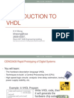 Ch.0 Introduction to VHDL