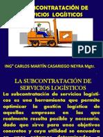 Subcontratación de Servicios Logísticos