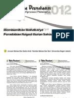 Buku Panduan, Lampiran, Formulir Gam 3 Nasional