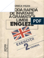 Metoda rapida de invatare a limbii engleza