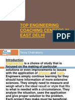 Top Engineering Coaching Centers in East Delhi