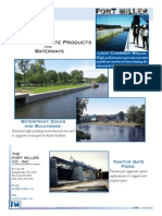 Precast Concrete Waterways