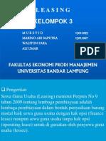 presentasi keuangan