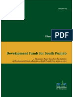 Development Funds for South Punjab Discussion Paper 241110