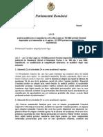 Propunere Legislativa imunitate - Monica Macovei