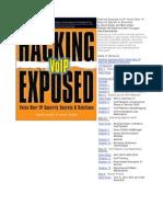 Hacking Exposed Web 2.0 Pdf