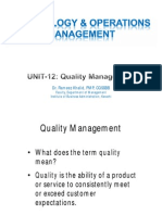 Unit12 - Quality_Management