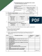 Application for Reimbursement of CEA14-15