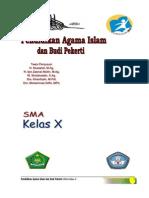 Buku PAI Kls X Kurikulum 2013