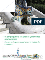 Park Guell Spanjolski Prezentacija