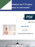 Como optimizar tus CTA para incrementar la conversión