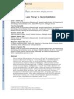 Role of LLT in Neuroreabilitation