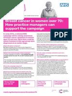 Practice Manager Leaflet