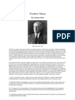 Woodrow Wilson - The 14 Points