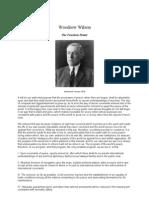 Woodrow Wilson - The 14 Points
