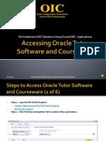 Accessing Tutor Courseware